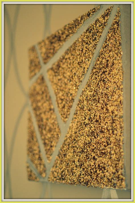 Diy Glitter Wall Art Delicious And Diy Sparkle Wall Decor