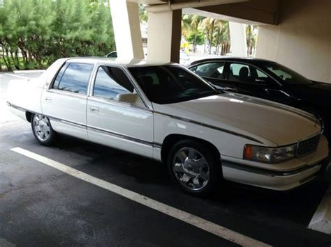 how do i learn about cars 1996 cadillac deville engine control buy used 1996 cadillac deville sedan white no reserve in pompano beach florida united states