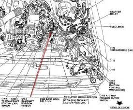 1994 ford ranger engine diagram