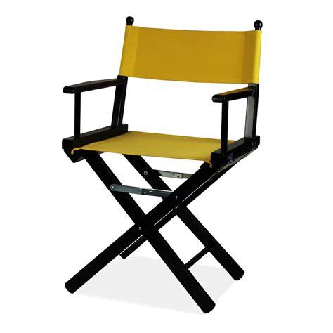 sedia da regista sedia regista nera regista p an arredas 236