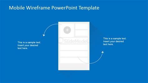 mobile add contact widget wireframe slidemodel