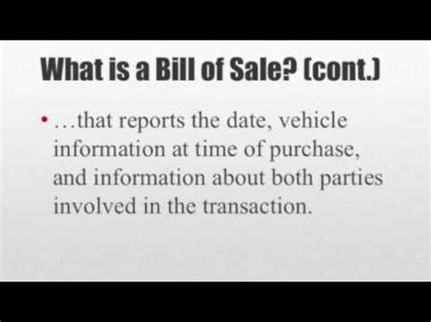how to write a car report sle how to write a bill of sale