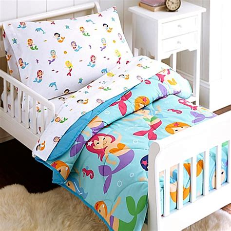 olive kids bedding toddler bedding sets gt olive kids mermaids 4 piece toddler