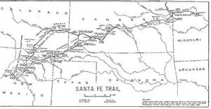 santa fe trail colorado springs map santa fe trail