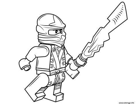 ninjago coloring pages a4 coloriage lego ninjago cole dessin