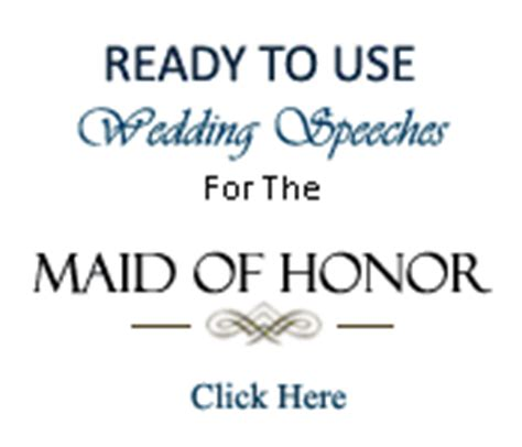 wedding toast maid of honor quotes
