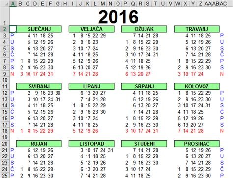 search results for kalendar za 2016 calendar 2015