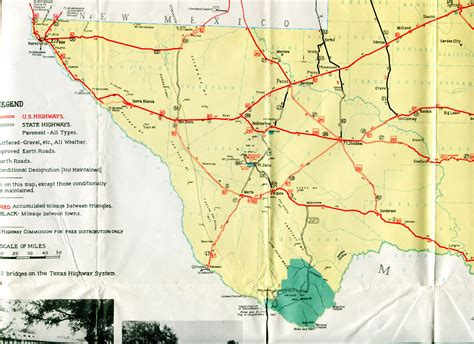 maps of west texas road map of west texas cakeandbloom