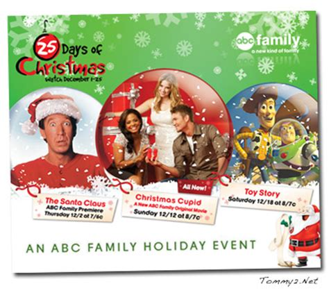 what channel is abc family on bright house abc family christmas movie chad michael murray