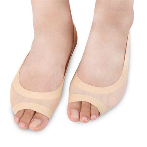 Open Toe Socks Kaos Kaki 2pc fish sock open toed foot boat slip socks toe