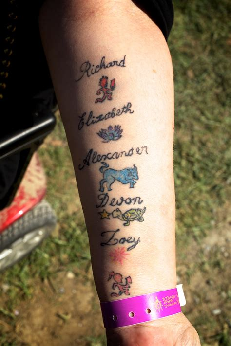 grandkids tattoos grandchildren tattoos