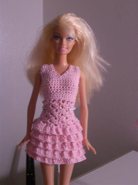 pattern clothes for barbie crochet for barbie the belly button body type pink