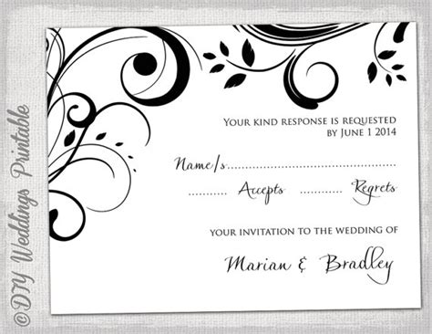 Free Printable Wedding Rsvp Card Templates Vastuuonminun Free Rsvp Postcard Template