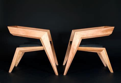fauteuil design bois chaise design chaise en bois de simon reynaud