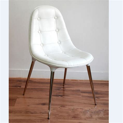 Cheap White Leather Dining Chairs Buy Wholesale White Leather Dining Chair From China White Leather Dining Chair