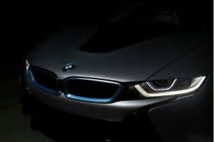 bmw is with laser lights as the 2015 i8 enters