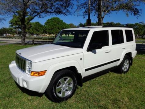 07 Jeep Commander For Sale Sell Used Florida 07 Commander Navigation Rear