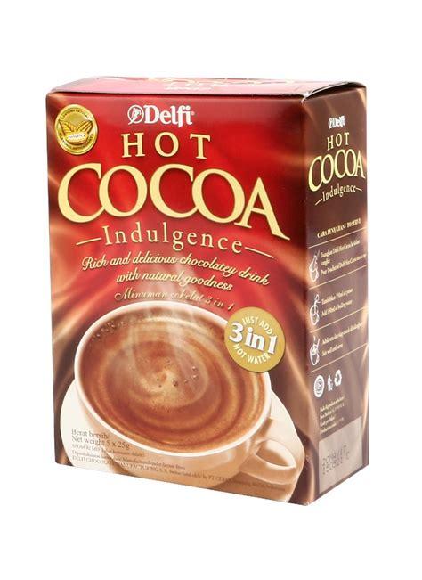 Delfi Cacao delfi cocoa indulgence box 5x25g klikindomaret