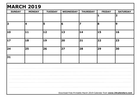 printable calendar april 2018 to march 2019 march 2019 calendar printable