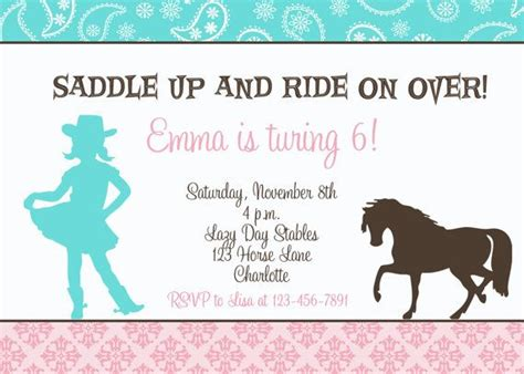 free printable horse riding party invitations birthday horseback riding birthday invitation horseback riding
