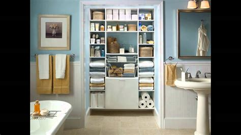 Closet Bathroom Ideas small bathroom closet ideas youtube