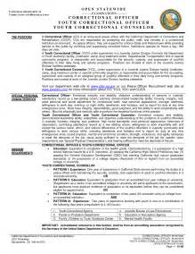 Correctional Officer Resume Sle by Officer Resume Sales Officer Lewesmr