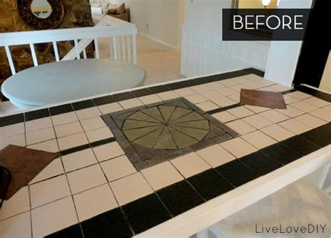 Can You Paint Tile Countertops by When Less Is More How To Paint A Tile Countertop 187 Curbly