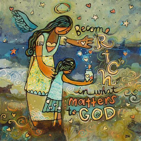 how to become good artist become rich in what matters to god painting by jen norton