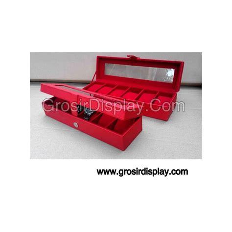 Box Jam Tangan Isi 6 Warna Biru Benhur I Kotak Jam Murah 4rpu kotak jam tangan gelang eksklusif isi 6 grosir display