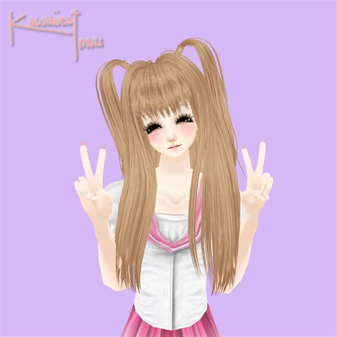 Kawaii Hairstyles by Kawaii School Hairstyles By S0l Kawaiiest Of Imvu