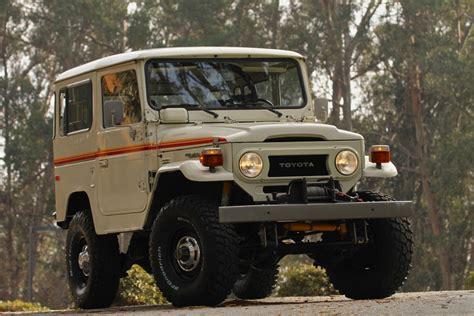 vintage toyota 4x4 toyota land cruiser fj40 4x4 restored vintage truck