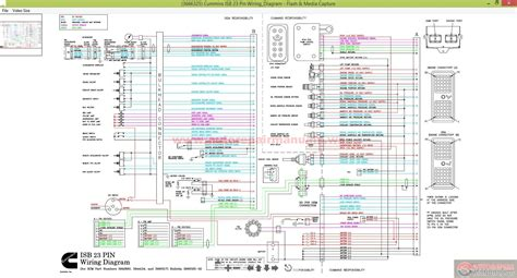 cummins isb 23 pin wiring diagram auto repair manual
