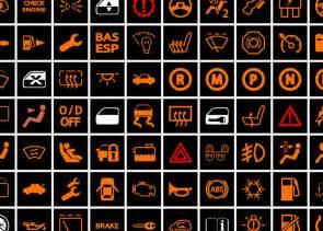 wichtige kontrollleuchten und warnzeichen im auto