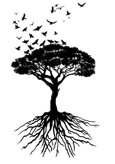 tree of life tattoos designs 70 sketches tree of tattoos drawings golfian