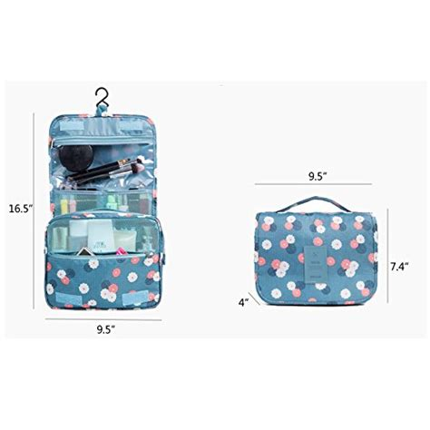 Pouch Organizer Travel Bag Versi 2 Flower Dks huluwa toiletry bag multifunction cosmetic bag portable makeup pouch waterproof travel hanging