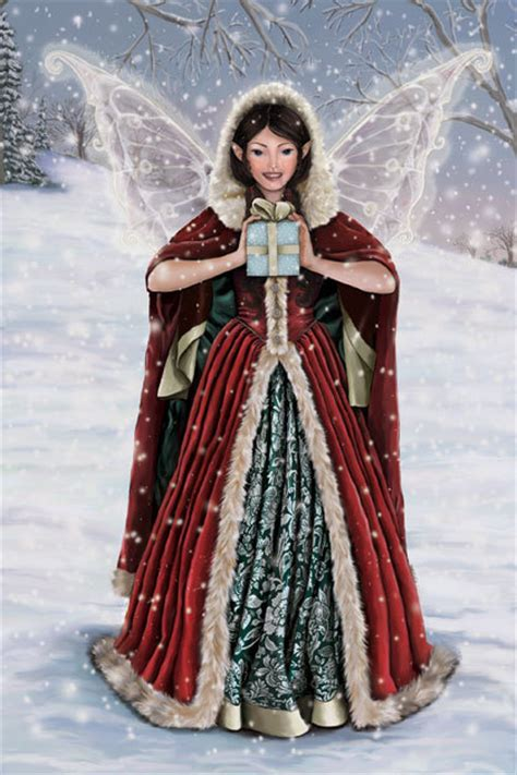images of christmas fairies christmas fairy yorkshire rose photo 17383327 fanpop