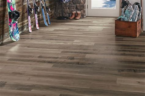 vinyl laminate linoleum    wood groutable
