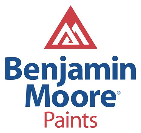 paint companies benjamin moore paints logo construction logonoid com