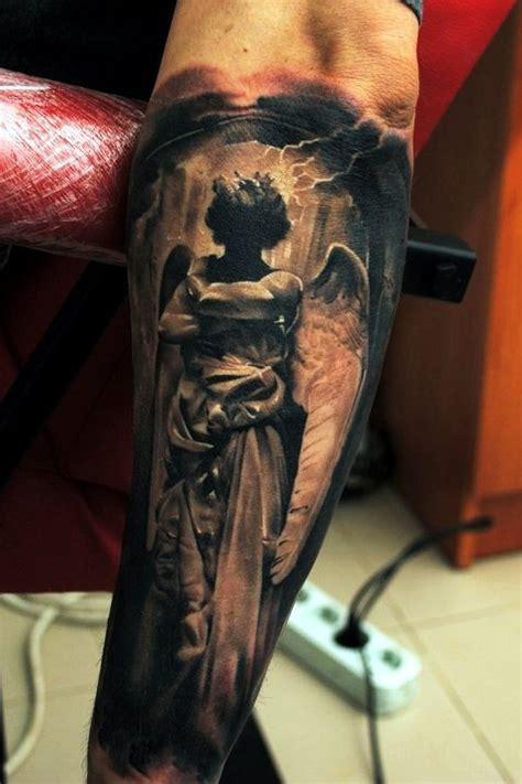 jesus tattoo amazing amazing angel silhouette religious tattoo best tattoo