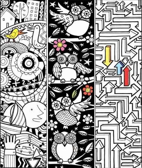 school doodle colouring bookmarks 71 best bookmarks images on pinterest book markers