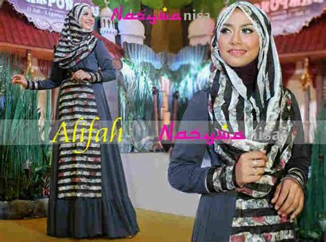 Alifah Syar I alifah by nasywannisa abu baju muslim gamis modern