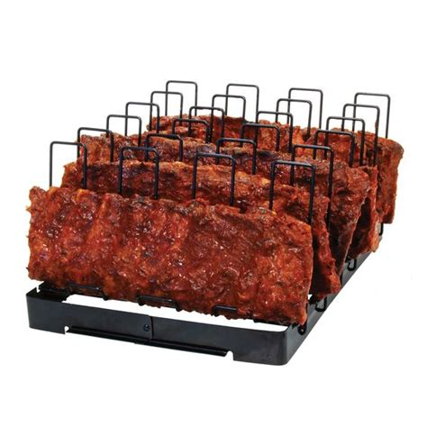 Brinkman Rib Rack by An Easy Way To Make Ribs On A Grill So They Won T Stick