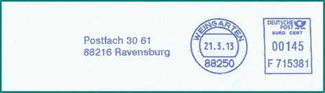 silversea cruises uk ltd branch frankfurt philaseiten de absenderfreistempel frankit