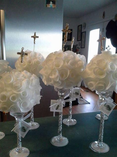 imagenes de centro de mesas para bautismo imagui centros de mesa para bautizo by qumircreations crafts manualidades baptisms