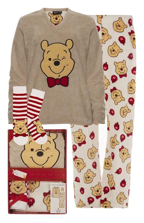 Piyama Winnie The Pooh Friends primark winnie the pooh pyjama in geschenkbox
