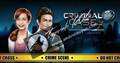 mod apk game criminal case criminal case v2 4 2 mod apk para hileli