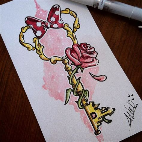 the rose tattoo characters best 25 disney drawings ideas on