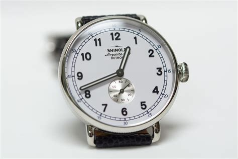 a review of shinola watches storytelling through