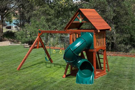 cheap backyard playsets wooden swing sets free shipping