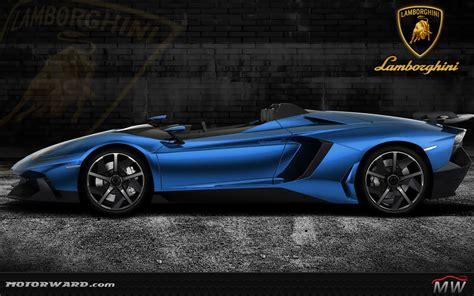 Lamborghini Aventador J Blue Lamborghini Aventador J Gold And More Motorward